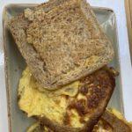 Rezept: Toast mit Ei als Supersandwich